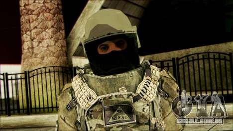 Ranger (CoD: MW2) v3 para GTA San Andreas terceira tela