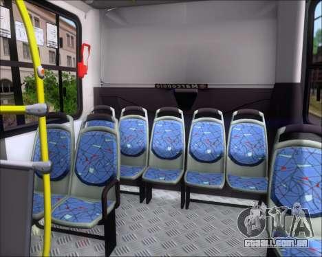 Marcopolo Torino 2007 Volksbus 17-230 EOD para GTA San Andreas interior