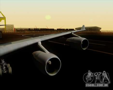 Airbus A340-313 Air China para GTA San Andreas interior