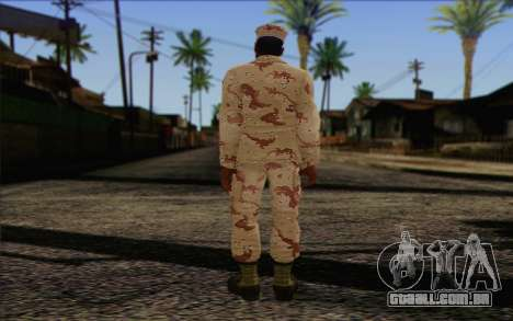 California National Guard Skin 2 para GTA San Andreas segunda tela