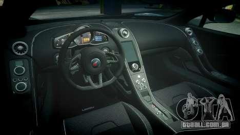 McLaren 650S Spider 2014 [EPM] Yokohama ADVAN v2 para GTA 4 vista interior