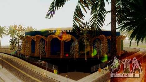 Novas texturas estádio em Los Santos para GTA San Andreas segunda tela