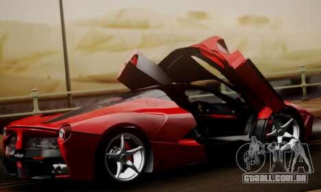 Ferrari LaFerrari F70 2014 para GTA San Andreas vista superior