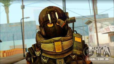 Наемник (Tom Clancy Splinter Cell: Blacklist) para GTA San Andreas terceira tela
