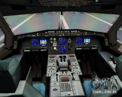 Airbus A330-300 KLM Royal Dutch Airlines para GTA San Andreas interior