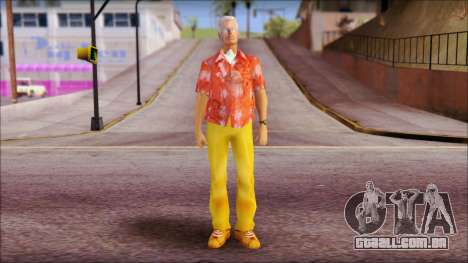 Doc from Back to the Future 2015 para GTA San Andreas