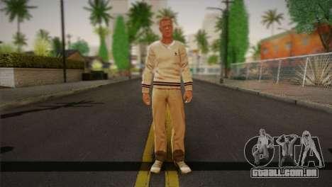 Frank Sunderland From Silent Hill: The Room para GTA San Andreas