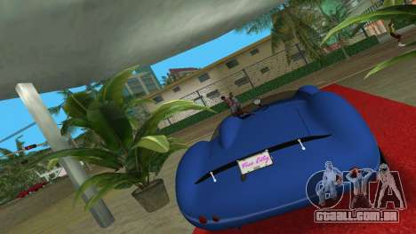 Aston Martin DBR1 para GTA Vice City deixou vista