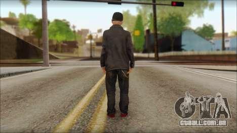 Fred Durst from Limp Bizkit v2 para GTA San Andreas segunda tela