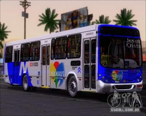 Marcopolo Torino 2007 Volksbus 17-230 EOD para GTA San Andreas traseira esquerda vista