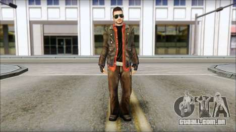 Young Bikerman Skin para GTA San Andreas