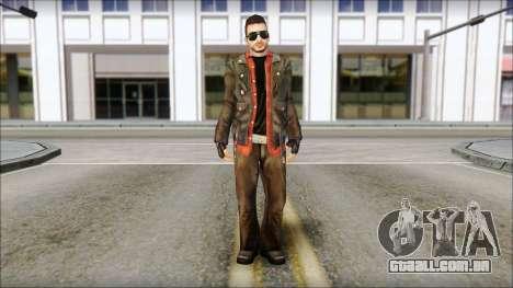 Young Bikerman Skin para GTA San Andreas