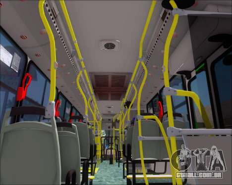 Marcopolo Torino 2007 - Mercedes-Benz OF-1722 para GTA San Andreas interior