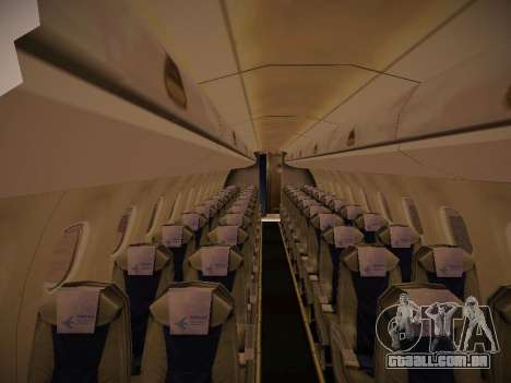 Embraer E190 TRIP Linhas Aereas Brasileira para vista lateral GTA San Andreas