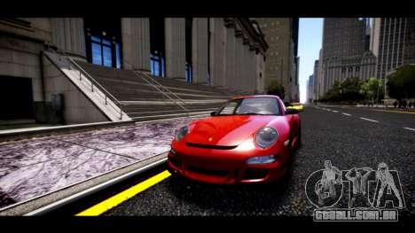 Porsche 911 GT3 RS para GTA 4 vista de volta