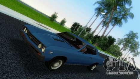 Chevrolet Chevelle SS 1967 para GTA Vice City deixou vista