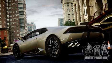Lamborghini Huracan LP850-4 2014 Wheelsandmore para GTA 4 vista interior