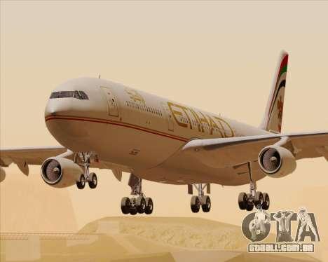 Airbus A340-313 Etihad Airways para GTA San Andreas