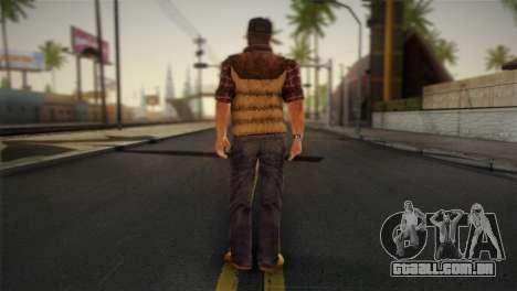 Travis Grady From Silent Hill: Origins para GTA San Andreas segunda tela