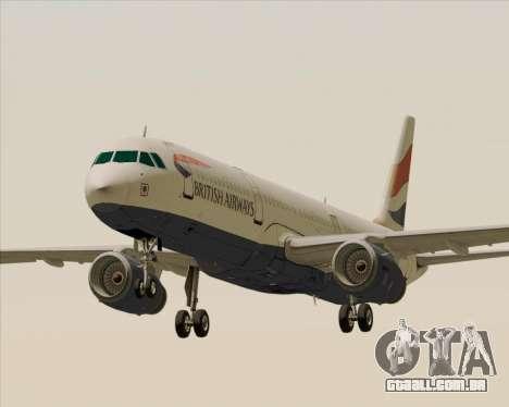 Airbus A321-200 British Airways para GTA San Andreas