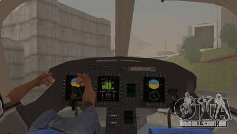 Bell 429 v1 para GTA San Andreas vista direita