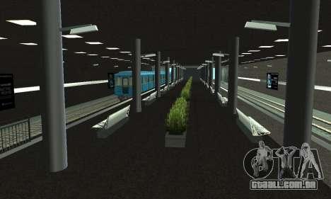 Uma nova estação de metrô de San Fierro para GTA San Andreas
