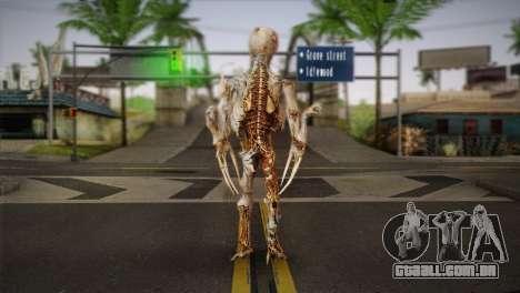Monstro do jogo Dead Spase 3 para GTA San Andreas segunda tela