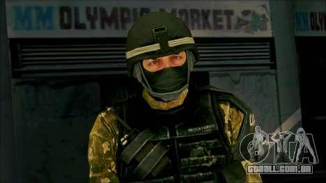 Soldier from Prototype 2 para GTA San Andreas terceira tela