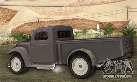 Bravado Duneloader Classic 1.0 (HQLM) para GTA San Andreas esquerda vista
