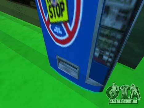Máquina com bebida Não Parar de Stalker para GTA San Andreas terceira tela