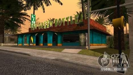 Novo bar em Ganton para GTA San Andreas segunda tela