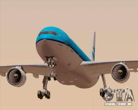Airbus A330-300 KLM Royal Dutch Airlines para o motor de GTA San Andreas