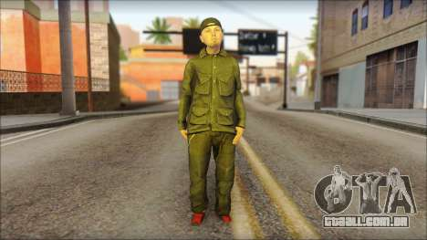 Fred Durst from Limp Bizkit v2 para GTA San Andreas