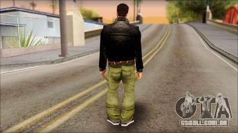 Shades Claude v2 para GTA San Andreas segunda tela
