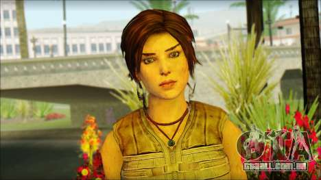 Tomb Raider Skin 15 2013 para GTA San Andreas terceira tela