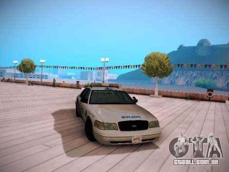 Ford Crown Victoria Toronto Police Service para GTA San Andreas