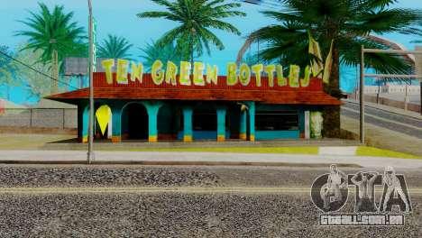 Novo bar em Ganton para GTA San Andreas sexta tela