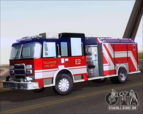 Pierce Arrow XT TFD Engine 2 para GTA San Andreas esquerda vista
