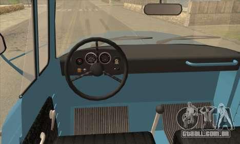 DAC 6135 R para GTA San Andreas traseira esquerda vista