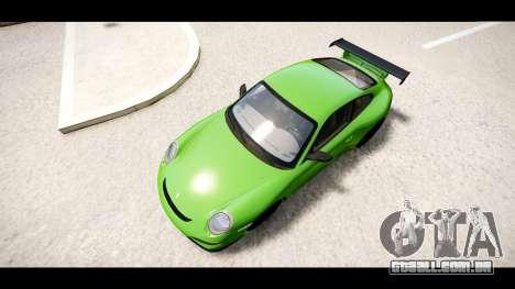 Porsche 911 GT3 RS para GTA 4 vista direita