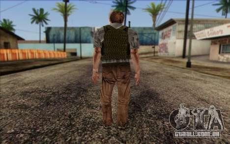Dixon from ArmA II: PMC para GTA San Andreas segunda tela