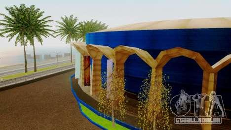 Novas texturas estádio em Los Santos para GTA San Andreas terceira tela