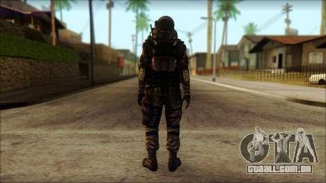 Наемник (Tom Clancy Splinter Cell: Blacklist) para GTA San Andreas segunda tela