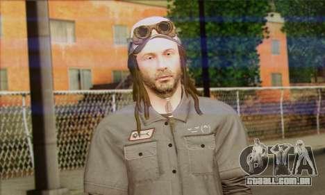 Raymond Kenney from Watch Dogs para GTA San Andreas terceira tela