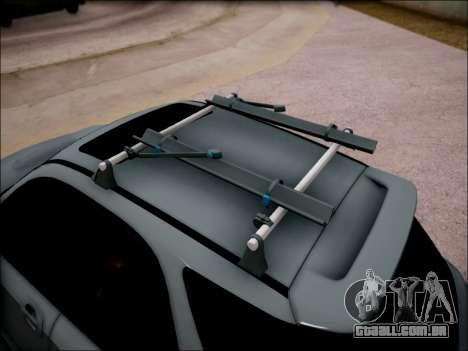Subaru Impreza Wagon 2002 para GTA San Andreas vista traseira