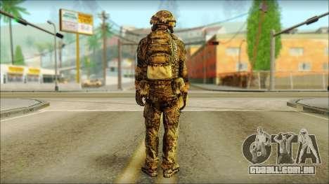 Lutador OGA (MoHW) v3 para GTA San Andreas segunda tela