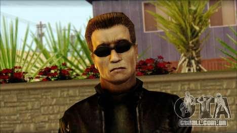 Arnold Shvarzneger para GTA San Andreas terceira tela