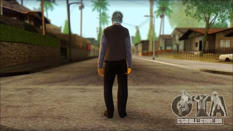 GTA 5 Ped 16 para GTA San Andreas segunda tela