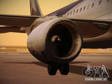 Airbus A320-214 LAN Airlines 100th Plane para as rodas de GTA San Andreas