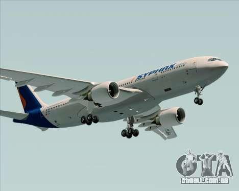 Airbus A330-200 Syphax Airlines para vista lateral GTA San Andreas